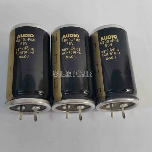 6800uf 56v panasonic audio capacitor
