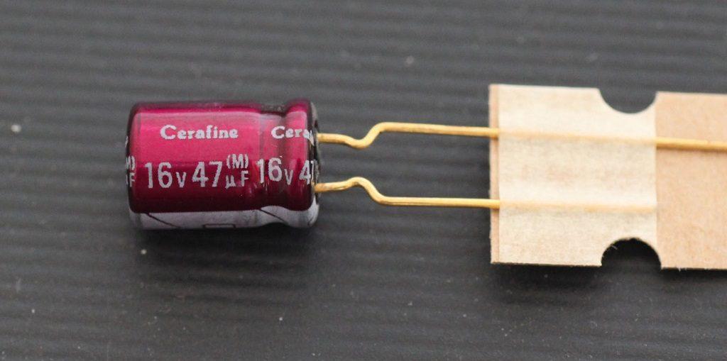 خازن های گرید صوتی النا 100 میکرو فاراد 100 ولت