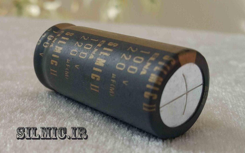 خازن سیلمیک النا 220 میکرو فاراد 100 ولت