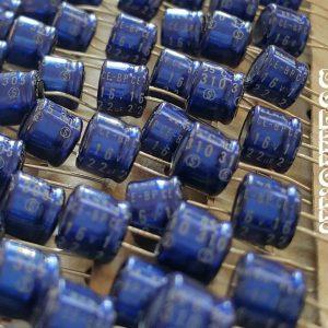 خازن بی پلار 22 میکرو فاراد 16 ولت