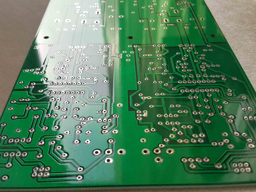 برد PCB خام پاور آمپلی فایر کلاس D استریو