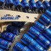 خازن آدیو 470 میکرو فاراد 25 ولت ژاپنی ELNA