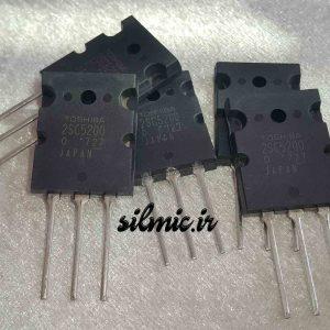 ترانزیستور 2SC5200 قدرت N-channel توشیبا ژاپن