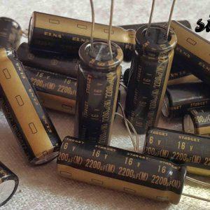خازن های گرید 2200 میکرو فاراد 16 ولت