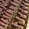 خازن بی پلار 330 نانو فاراد 50 ولت الکترولیتی