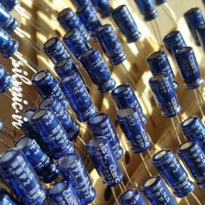 خازن بی پلار 10 میکرو فاراد 16 ولت الکترولیتی