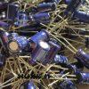 خازن بی پلار 33 میکرو فاراد 25 ولت الکترولیتی