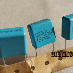 خازن 100 نانو فاراد 330 ولت AC سری PHE841E X1