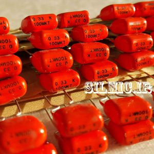 خازن 330 نانو فاراد 100 ولت فیلیپس سری MKT