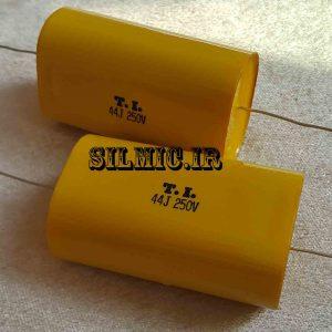 خازن کراس اور اکسیال 44 میکرو فاراد 250 ولت