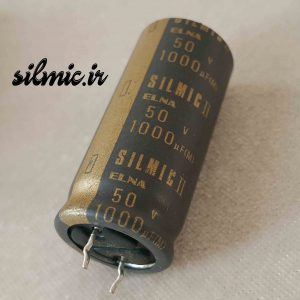 خازن سیلمیک النا 1000 میکرو فاراد 50 ولت