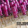 خازن الکترولیتی 10 میکرو فاراد 16 ولت گرید صوتی
