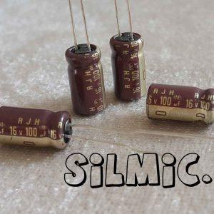 خازن گرید صوتی 100 میکرو 16 ولت