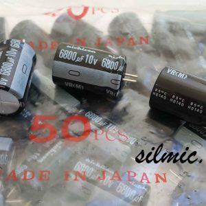 خازن الکترولیتی 6800 میکرو فاراد 10 ولت