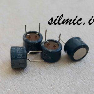 خازن گرید صوتی 220 میکرو فاراد 6.3 ولت