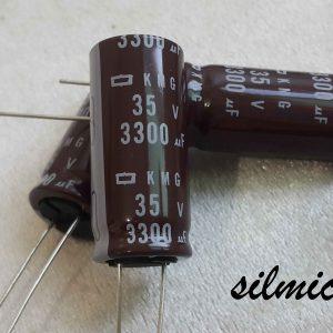 خازن 3300 میکرو فاراد 35 ولت NIPPON