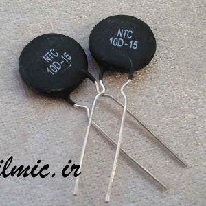 NTC ترمیستور 10 اهم با قطر 15 میلیمتر