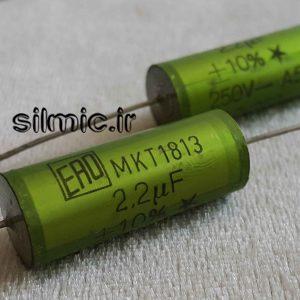 خازن کراس اور 2.2 میکرو فاراد 250 ولت فرکانسی