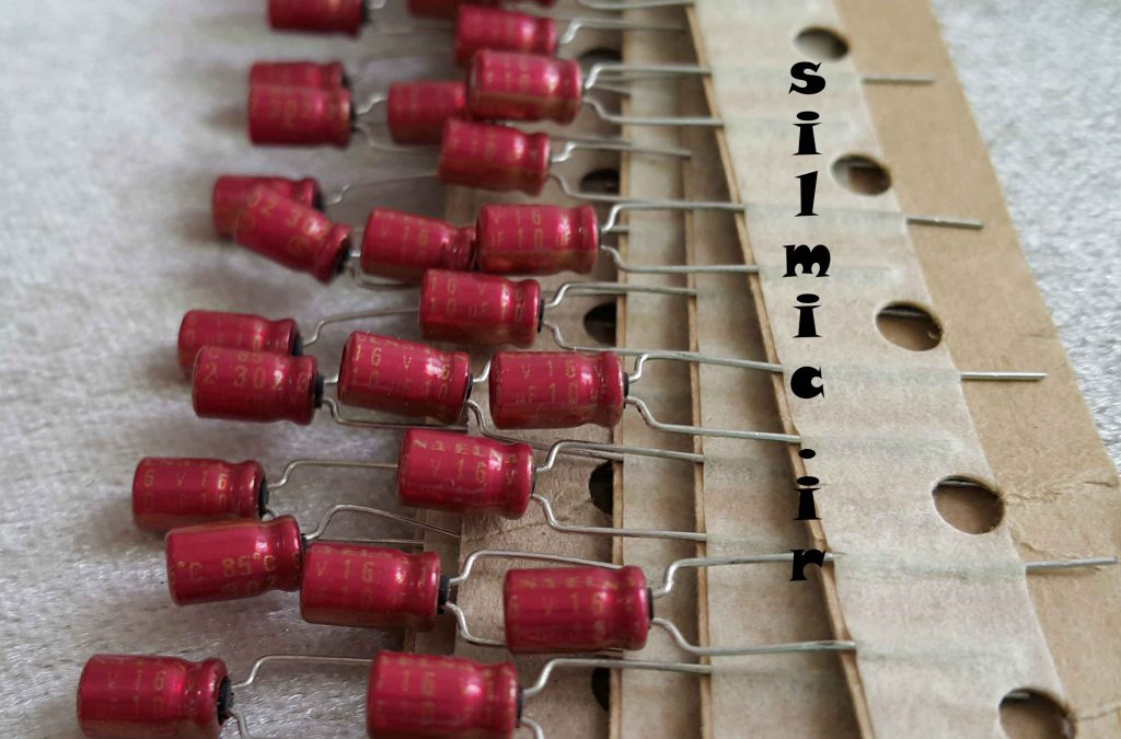 خازن آدیو 10 میکرو فاراد 16 ولت ELNA ژاپن سری R2A