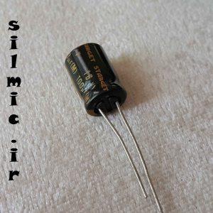 خازن های گرید 100 میکرو فاراد 16 ولت صوتی ELNA