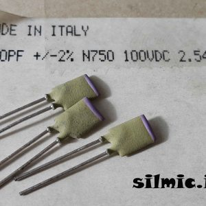 خازن 270 پیکو فاراد 100 ولت های فرکانسی