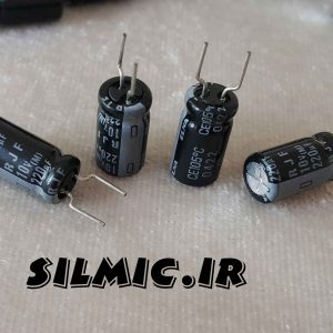 خازن الکترولیتی 220 میکرو فاراد 10 ولت