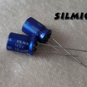 خازن آدیو 10 میکرو فاراد 160 ولت