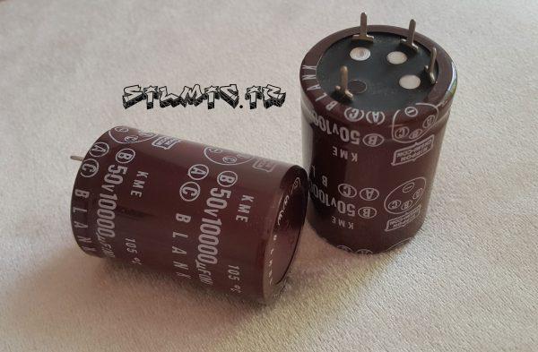 خازن الکترولیت 10000 میکرو فاراد 50 ولت
