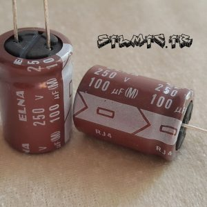 خازن الکترولیتی 100 میکرو فاراد 250 ولت