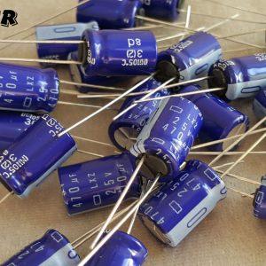 خازن الکترولیتی 470 میکرو فاراد 25 ولت NIPPON