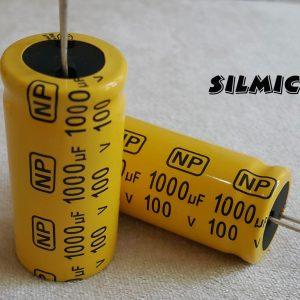 خازن بی پلار 1000 میکرو فاراد 100 ولت