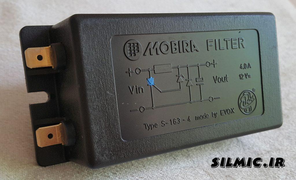 فیلتر و رگولاتور 12 ولت 4 آمپر DC