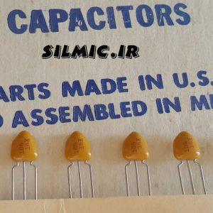 خازن تانتال 10 میکرو فاراد 16 ولت KEMET