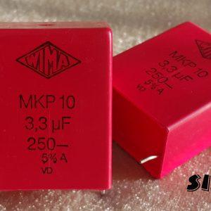 خازن های فرکانس 3.3 میکرو فاراد 250 ولت