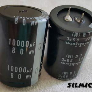 خازن 10000 میکرو فاراد 80 ولت