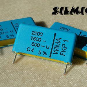 خازن های فرکانسی 2.2 نانو فاراد 1600 ولت