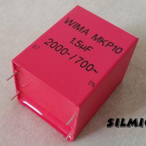 خازن های فرکانس 1.5 میکرو فاراد 2000 ولت