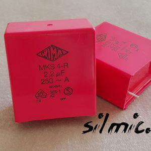 خازن 2.2 میکرو فاراد 250 ولتACساخت WIMA