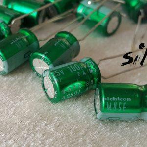 خازن های گرید صوتی 100 میکرو فاراد 25 ولت