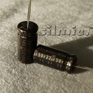 خازن بی پلار های گرید صوتی 22 میکرو