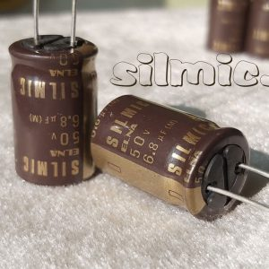 خازن سیلمیک النا 6.8 میکرو فاراد 50 ولت