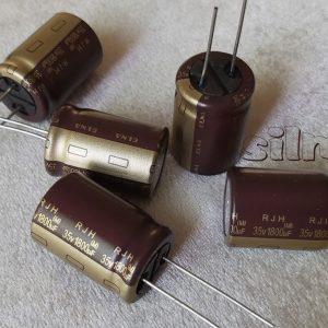 elna rjh gold 1800uf 35v