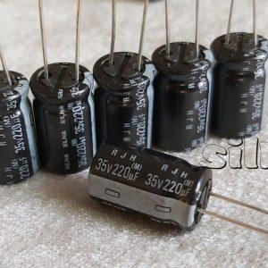 خازن گرید صوتی 220 میکرو فاراد 35 ولت