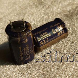 خازن 1500 میکرو فاراد 6.3 ولت