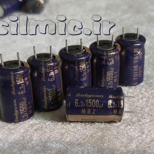 rubycon mbz 1500uf 6.3v