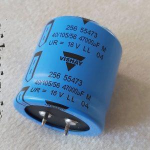 خازن 47000 میکرو فاراد 16 ولت