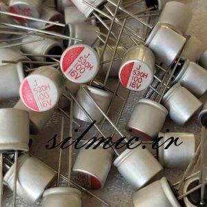 Aluminum Solid Electrolytic Capacitor jamicon 100uf 16v ph series