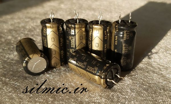 خازن های گرید صوتی النا 2200 میکرو