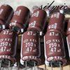 خازن 47 میکرو فاراد 250 ولت ژاپنی