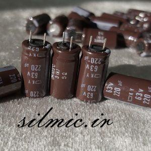nippon ky 220uf 63v low impedance